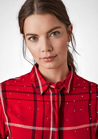 Блуза с украшения