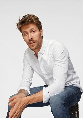 TOMMY JEANS TOMMY джинсы рубашка с длинными рукава...