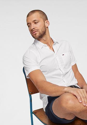 TOMMY джинсы рубашка с короткими рукав...