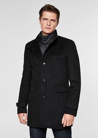 S.OLIVER BLACK LABEL Eleganter пальто шерстяное с Insert