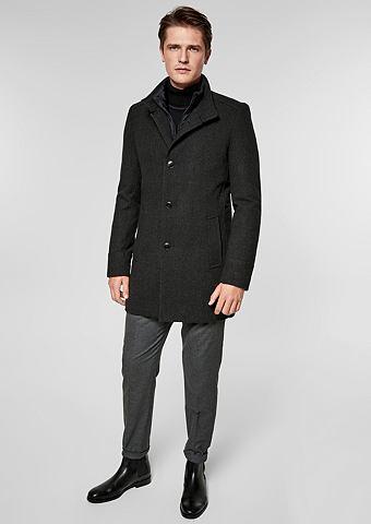 S.OLIVER BLACK LABEL Зауженные Eleganter пальто шерстяное с...