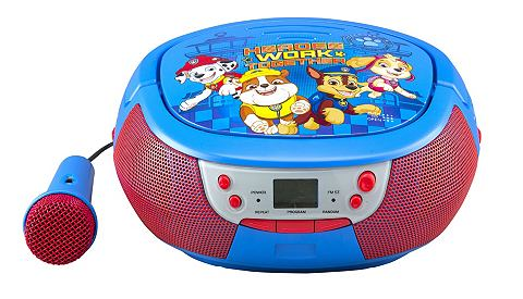 E Kids CD-плеер с микрофон в PAW Patro...