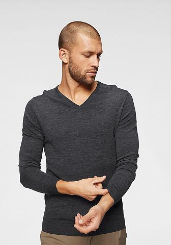 SELECTED HOMME Пуловер с V-образным вырезом »To...