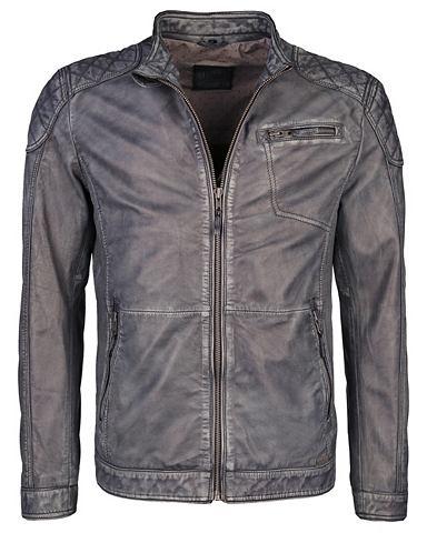 MUSTANG Куртка кожаная с Steppungen »Ati...
