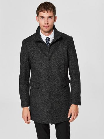 SELECTED HOMME Woll пальто