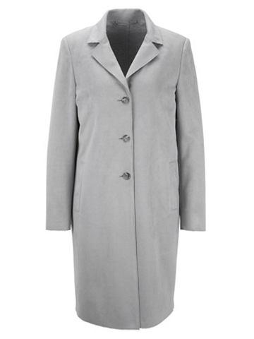 Пальто короткое из Velourleder-Imitat
