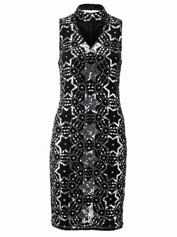 heine STYLE Коктейльное платье с съемный воротник ...