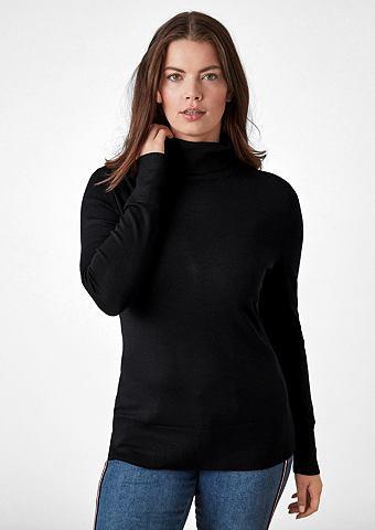 Пуловер с воротником-гольф с Rippbund