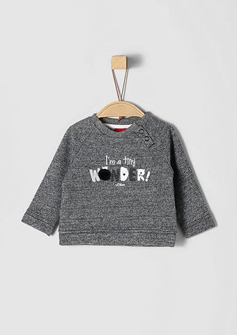 S.OLIVER RED LABEL JUNIOR Statement-Sweater с Artwork для Babys