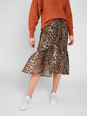 Leopardenprint оборка юбка