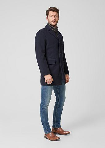 S.OLIVER RED LABEL Пальто шерстяное в Herringbone-Design
