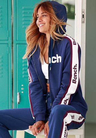 BENCH. Спортивный свитер с боковой Streifen и...