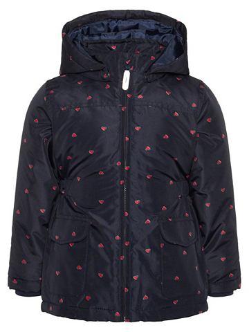 NAME IT Mello Herzprint куртка зимняя
