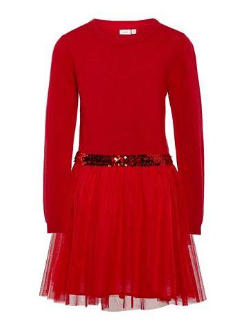 Gestricktes тюль платье