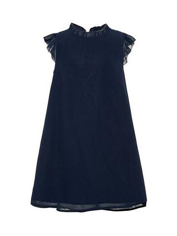 NAME IT С коротким рукавом оборка платье