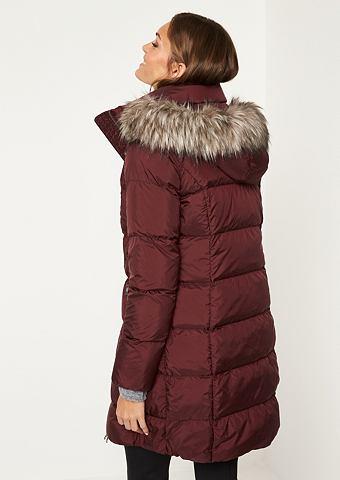 COMMA Куртка стеганая с Fake-Fur Besatz