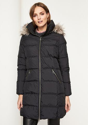 Куртка стеганая с Fake-Fur Besatz