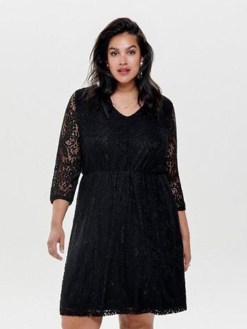 Curvy Spitzen короткое платье