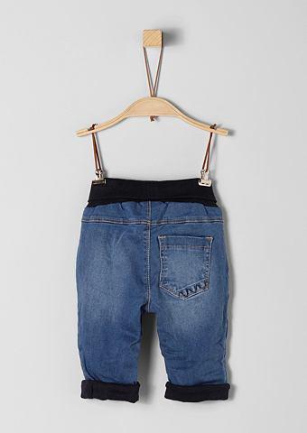 Gefütterte джинсы с талия для Bab...