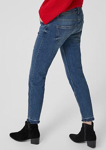 S.OLIVER RED LABEL Shape Укороченные джинсы в Used-Look