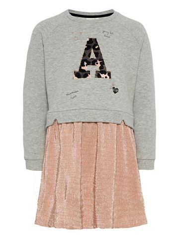 NAME IT Glitzer-Sweatshirt платье
