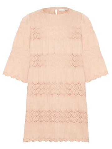 NAME IT Gewebtes A-Linien Falten платье
