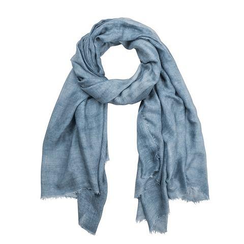 Melierter шарф с бахрома