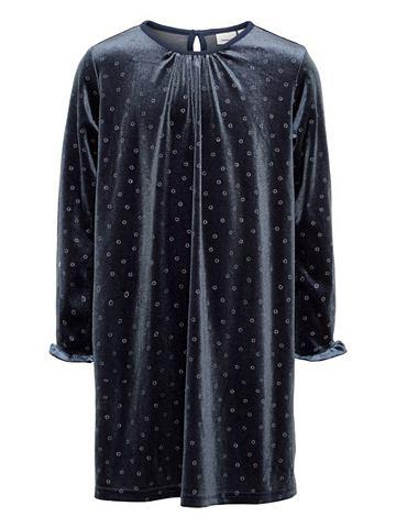 Пятнистый Velours платье