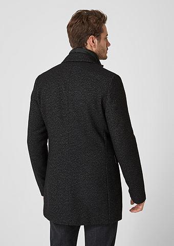 S.OLIVER BLACK LABEL Классический пальто шерстяное с Insert...