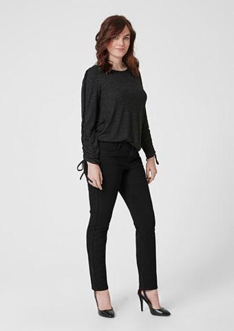 TRIANGLE Curvy узкий Leg: Black джинсы