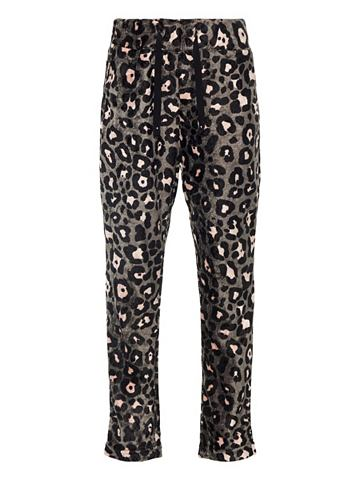 NAME IT Leopardenprint Velours брюки