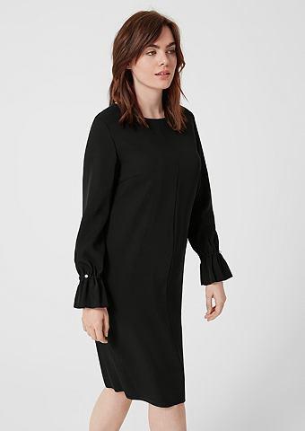 Платье сатиновое с Schmuck-Details