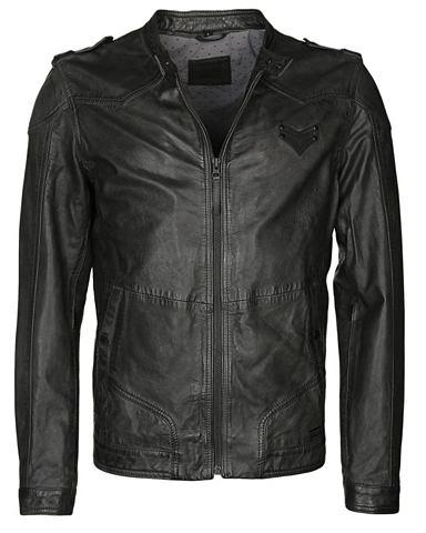 Куртка кожаная Байкер-стиль »Mar...