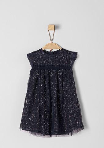 S.OLIVER RED LABEL JUNIOR Платье с блестящий орнамент для Babys