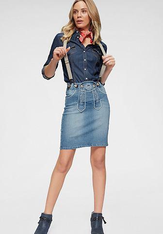 ARIZONA Юбка джинсовая »Bavaria«