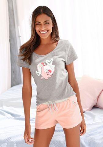 Пижама с Lama-Print