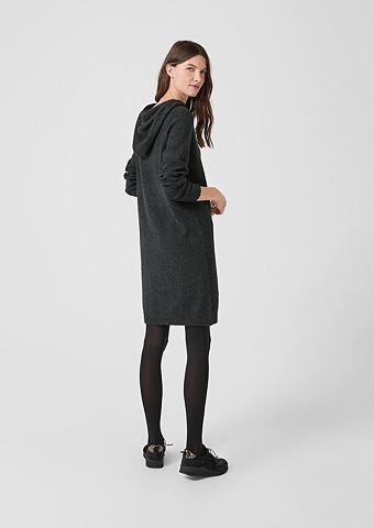 S.OLIVER RED LABEL Lässiges платье трикотажное с кап...