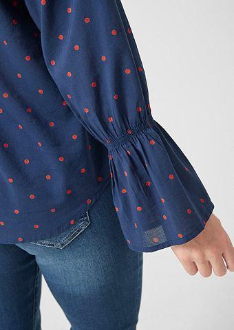 Блуза с ausgestellten рукавами