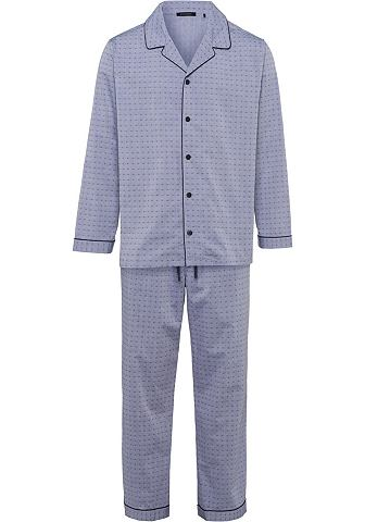 Пижама длинa Webware жаккард grau gemu...