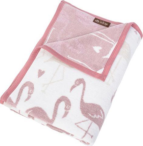 SEI DESIGN Плед »Flamingo«