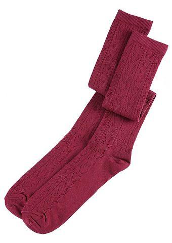 LUSANA Носки для женсщин с ажурный узор