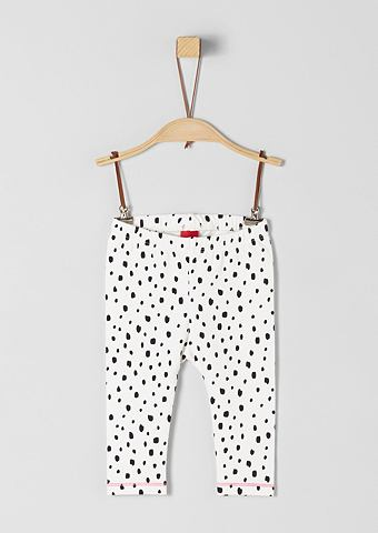 S.OLIVER RED LABEL JUNIOR Jerseyleggings с Dalmatiner-Print для ...