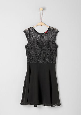 S.OLIVER RED LABEL JUNIOR Платье с нежный кружева для Mädch...