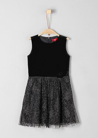 Платье бархатное с Glitzerspitze для M...