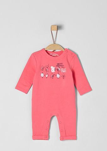 S.OLIVER RED LABEL JUNIOR Sweat-Overall с узор для Babys