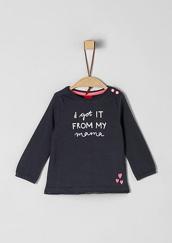 Майка с Statement-Print для Babys