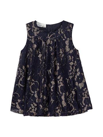 NAME IT Goldschimmerndes Spitzen платье