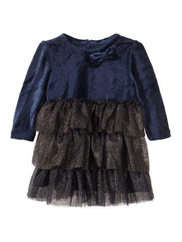 NAME IT Блестящий орнамент Velours платье