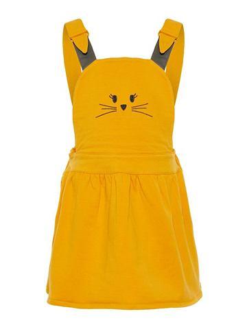 NAME IT Katzen-Stickerei платье комбинезон