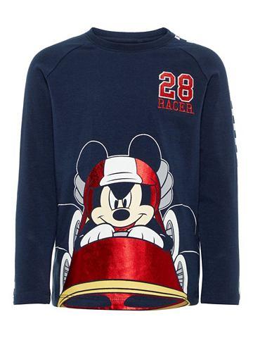 Mickey Mouse футболка с длинa рукавами...